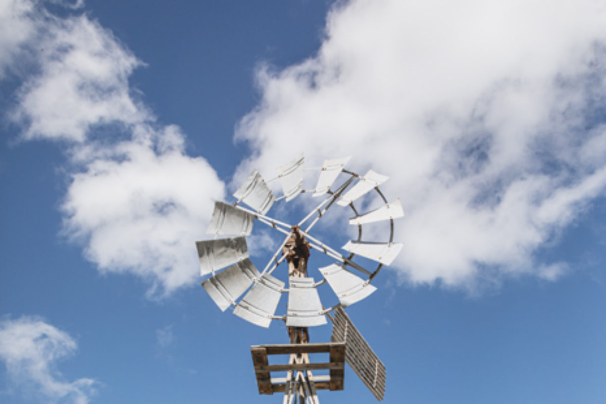 Windmill-in-front-of-house-Lockyer-Valley