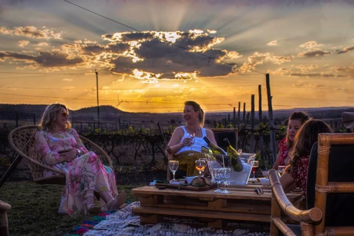 People-having-a-gathering-at-sunset-Lilyvale