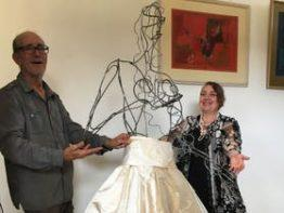 Maria Mastro and Gabriele Trabucco: Silk and Steel