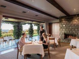 The Peak Restaurant at Spicers Peak Lodge
