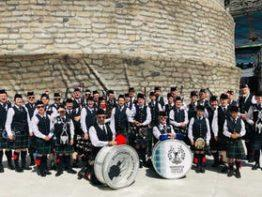 The Warwick Caledonian Society Pipe Band Muster and 150th Anniversary Dinner