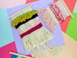 Bright & Colourful Loom Weaving