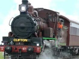 Heritage Railway Tour from Warwick to Clifton (Return), with Optional Trip to Greenmount